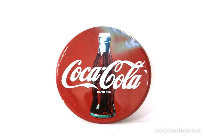 Antigua chapa original de coca cola a os 60 s 4 vendido - Chapa coca cola pared ...
