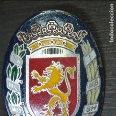 Carteles: EMBLEMA CHAPA POLICIA LOCAL MUNICIPAL ZARAGOZA AÑOS 70/80 (CASCO?). Lote 78462249
