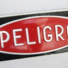 Carteles: CARTEL CHAPA PELIGRO CREO GASOLINERA IDEAL DECORACION VINTAGE POP. Lote 83790892
