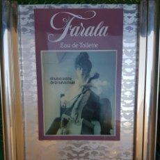 Carteles: RECLAMO FARADA GAL METAL Y MADERA. Lote 91585997