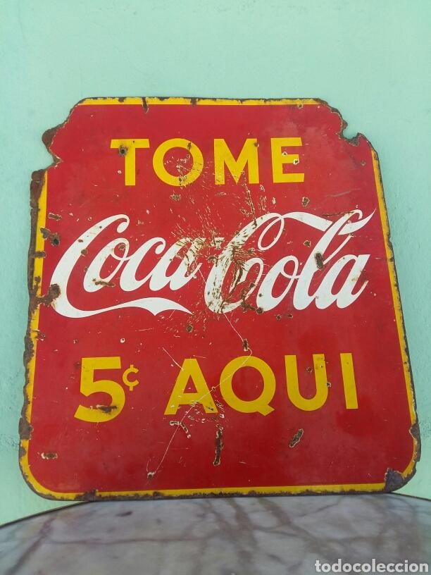 Chapa coca cola doble cara cuba comprar carteles - Chapa coca cola pared ...