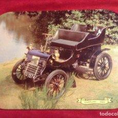 Carteles: PRECIOSO CARTEL DE CHAPA COCHE CADILLAC 1903. Lote 95042075