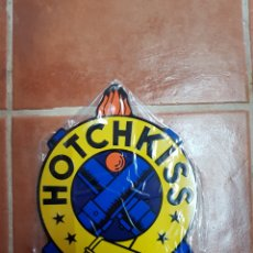 Carteles: CHAPA METÁLICA VINTAGE HOTCHKISS. Lote 95126998