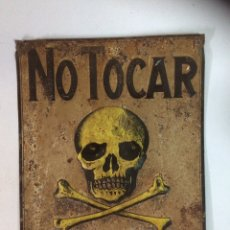 Carteles: CARTEL PELIGRO DE MUERTE.. Lote 95581910
