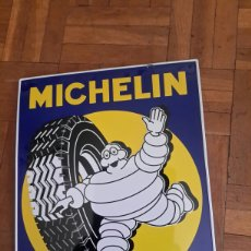 Carteles: CARTEL DE CHAPA DE MICHELIN. Lote 103657822