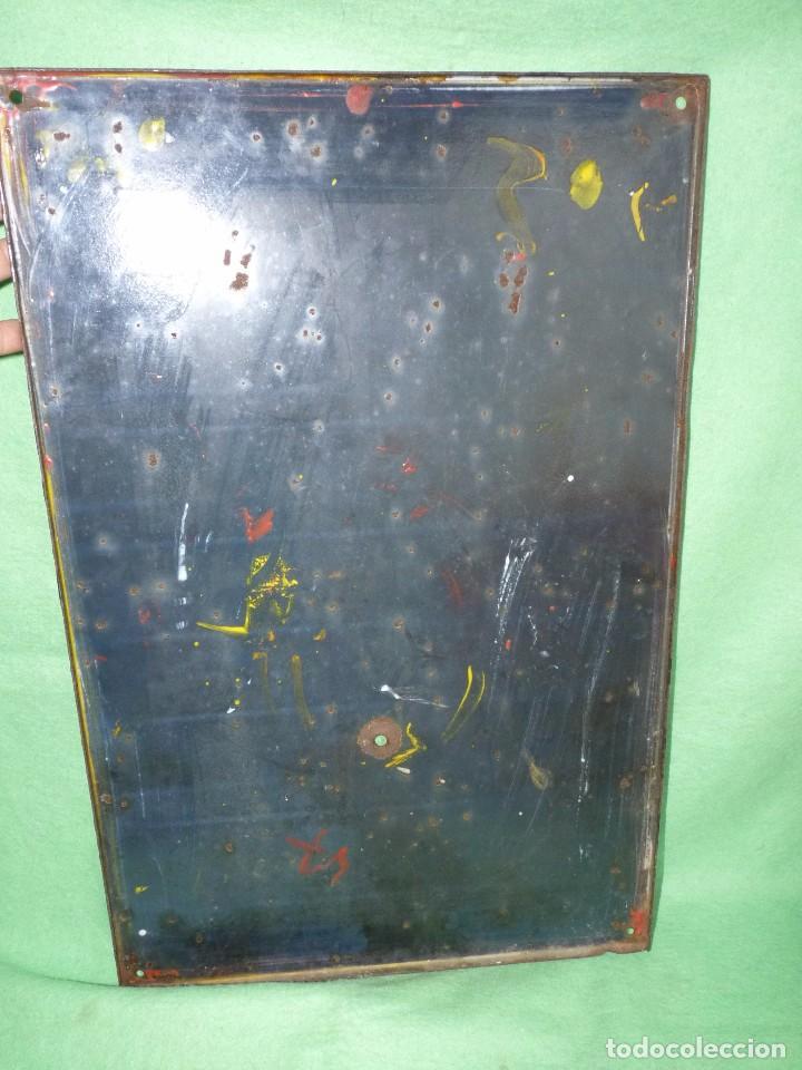 Carteles: RARA PLACA ESMALTADA TABACO JUNO JOSETTI ANTIGUA CHAPA CARTEL PUBLICITARIO AÑOS 30-40 ALEMANIA - Foto 6 - 103025343