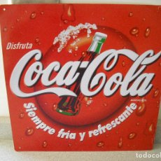 Carteles: CHAPA PUBLICITARIA COCA-COLA. Lote 103477007
