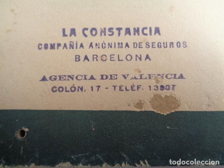 Carteles: LA CONSTANCIA.COMPAÑIA ANONIMA DE SEGUROS DE BARCELONA - Foto 3 - 104103011