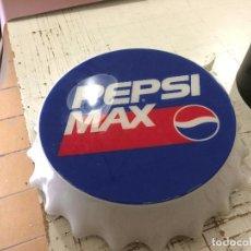 Carteles: CARTEL TIPO BOTON CHAPA BEBIDA PEPSI MAX PUBLICIDAD. Lote 104519495