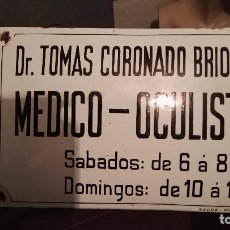 Carteles: CHAPA ESMALTADA. Lote 104846967