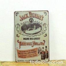 Carteles: CHAPA, PLACA, POSTER DE METAL DE 20X 30 CM. JACK DANIELS. Lote 105575415