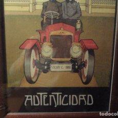 Carteles: CUADRO VICHY CATALAN. Lote 105686835