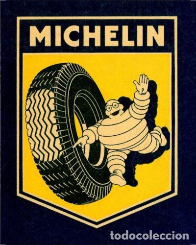 CHAPA METALICA REPRO VINTAGE MICHELIN MEDIDAS 30 X 20 CTMS NUEVA PRECINTADA (Coleccionismo - Carteles y Chapas Esmaltadas y Litografiadas)