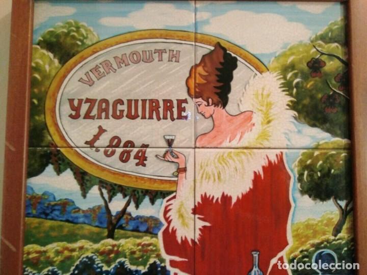 Carteles: CARTEL AZULEJOS - VERMOUTH IZAGUIRRE 1884 - - Foto 2 - 153366568