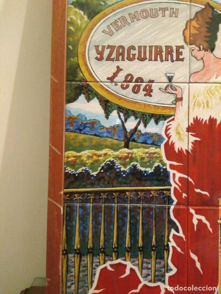 Carteles: CARTEL AZULEJOS - VERMOUTH IZAGUIRRE 1884 - - Foto 4 - 153366568