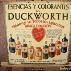 Plakate - Precioso cartón publicidad DUCKWORTH - 108320523