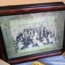 Carteles: LÁMINA DEL MUNDO DE LA CERVEZA, GRAN TAMAÑO. ENMARCADO Y ACRISTALADO.. Lote 108409207