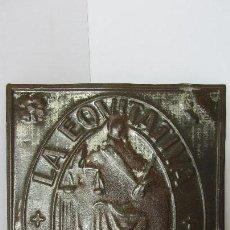 Carteles: CHAPA , CARTEL , PLACA , LA EQUITATIVA - INCENDIOS. Lote 109612523