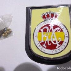 Carteles: PLACA CHAPA REAL AUTOMOVIL CLUB DE ESPAÑA. Lote 113210178