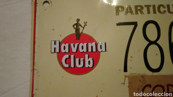 Carteles: PRECIOSA CHAPA VINTAGE, DE HAVANA CLUB, CON EL NOMBRE DEL PUEBLO ZAMORANO . CORRALES DEL VINO . VER - Foto 2 - 110501054