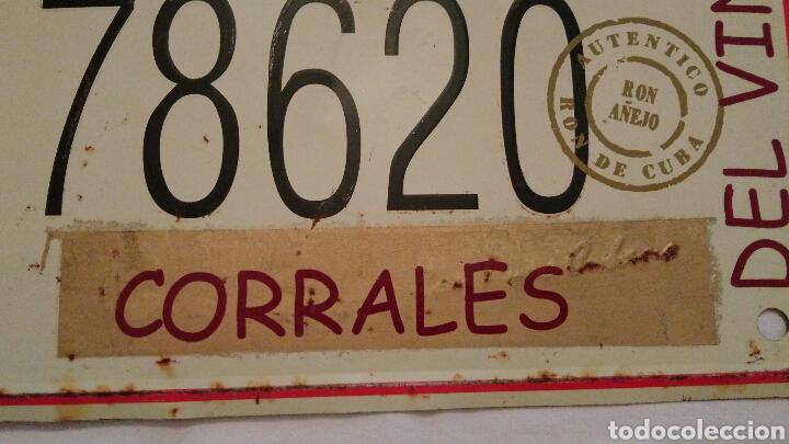 Carteles: PRECIOSA CHAPA VINTAGE, DE HAVANA CLUB, CON EL NOMBRE DEL PUEBLO ZAMORANO . CORRALES DEL VINO . VER - Foto 4 - 110501054