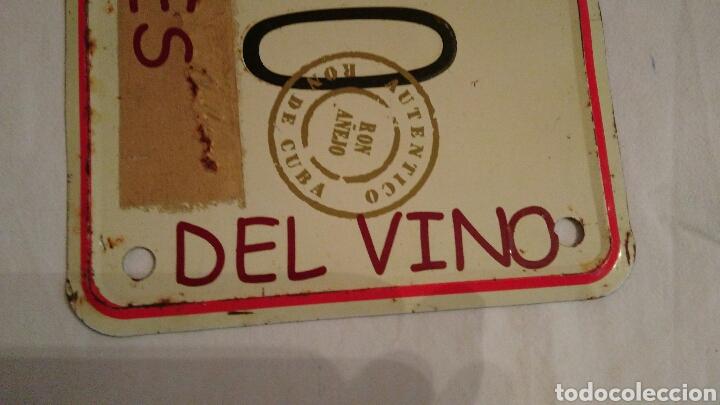 Carteles: PRECIOSA CHAPA VINTAGE, DE HAVANA CLUB, CON EL NOMBRE DEL PUEBLO ZAMORANO . CORRALES DEL VINO . VER - Foto 5 - 110501054