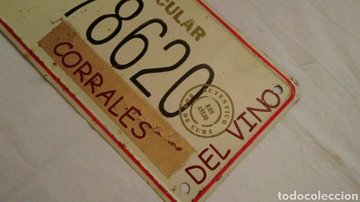 Carteles: PRECIOSA CHAPA VINTAGE, DE HAVANA CLUB, CON EL NOMBRE DEL PUEBLO ZAMORANO . CORRALES DEL VINO . VER - Foto 6 - 110501054