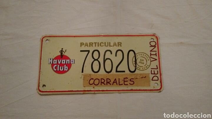Carteles: PRECIOSA CHAPA VINTAGE, DE HAVANA CLUB, CON EL NOMBRE DEL PUEBLO ZAMORANO . CORRALES DEL VINO . VER - Foto 7 - 110501054