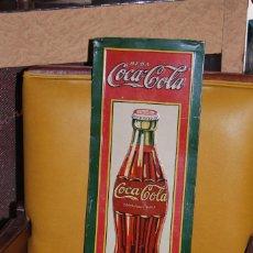 Carteles: PLACA CHAPA COCA-COLA METÁLICA LITOGRAFIADA. ORIGINAL AÑOS 1920S. G.DE ANDREIS PRIMERA PIEZA ESPAÑA. Lote 111463259