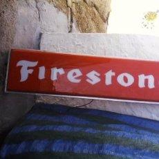 Carteles: CARTEL LUMINOSO FIRESTONE. Lote 113031663