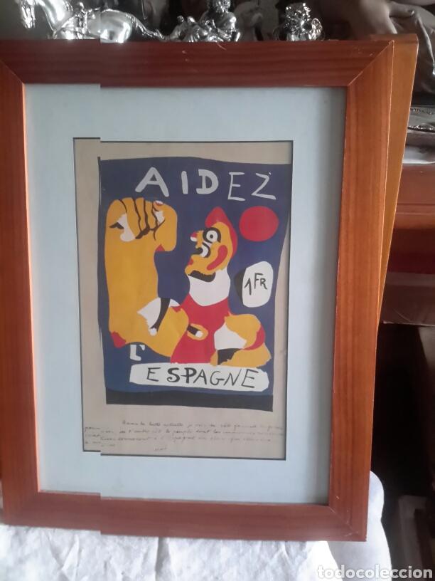 cartel enmarcado de la guerra civil española di - Comprar Carteles ...