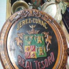 Carteles - Placa jerez y coñac real tesoro - 114472483
