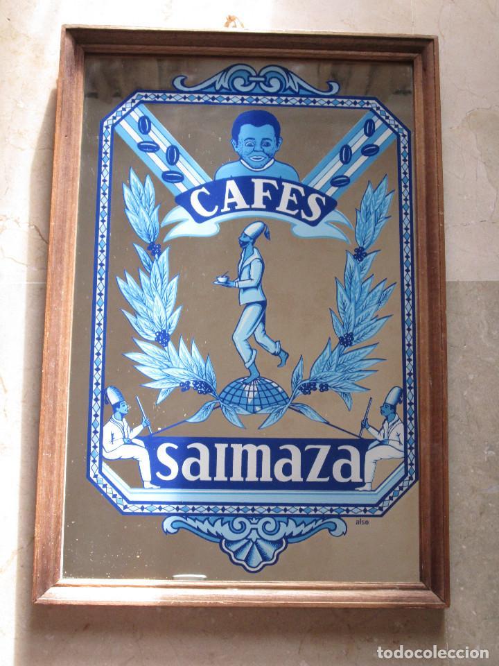 cuadro espejo - publicidad cafes saimaza - enma - Comprar Carteles ...
