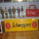 Carteles: CHAPA SCHWEPPES. ORIGINAL DE 1960-70S. MEDIDAS: 70X50CMS. Lote 114720139