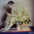Carteles: (PUB-180398)CARTEL TROQUELADO PUBLICITARIO BALSAMO AREPI - EXCLUSIVAS FEBRER & BLAY - AÑOS 20-30. Lote 115657251