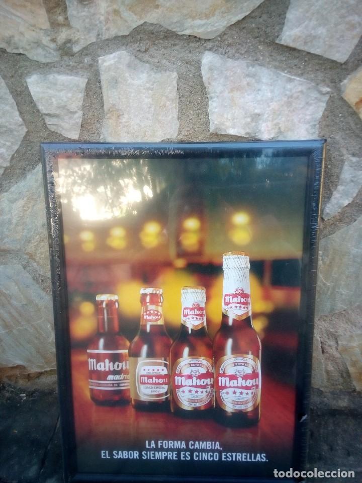 marco de publicidad de cerveza - Comprar Carteles antiguos, Chapas y ...