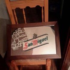 Carteles: CUADRO ESPEJO LITOGRAFIADO DE SAN MIGUEL. Lote 119914542