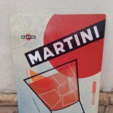 Carteles: CARTEL CHAPA MARTINI, 57 X 38 CM. Lote 121313559