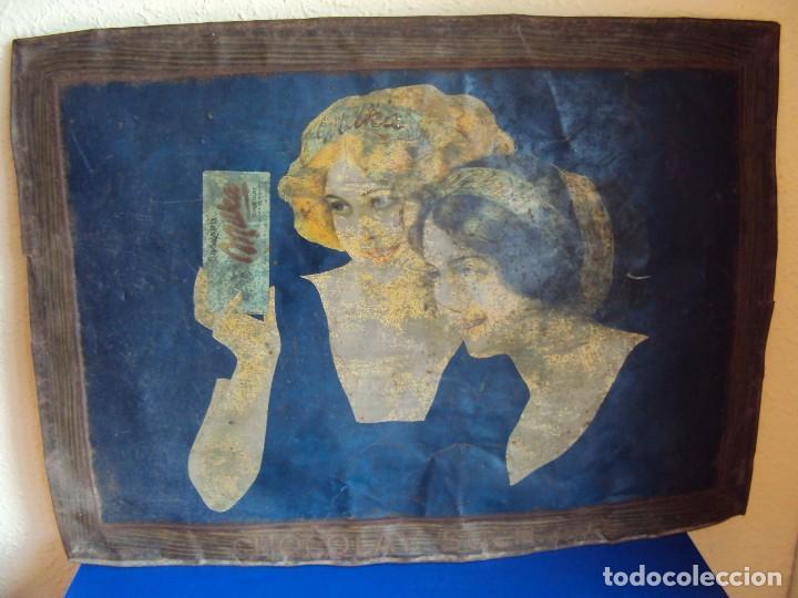 Carteles: (PUB-180567)CARTEL DE CHAPA CHOCOLATE SUCHARD - MILKA - Foto 2 - 121339731