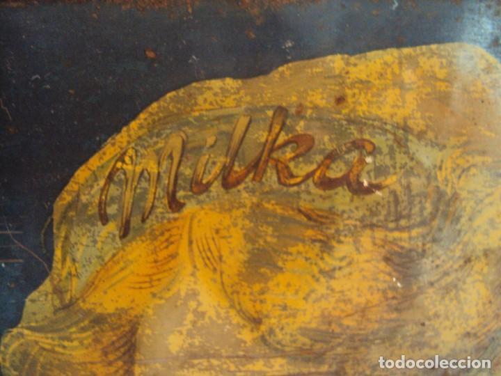 Carteles: (PUB-180567)CARTEL DE CHAPA CHOCOLATE SUCHARD - MILKA - Foto 4 - 121339731