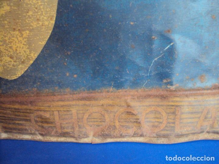 Carteles: (PUB-180567)CARTEL DE CHAPA CHOCOLATE SUCHARD - MILKA - Foto 6 - 121339731