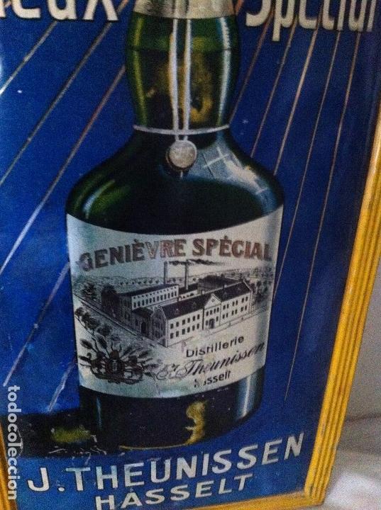 Carteles: Chapa Placa Publicidad Genievre Special. Bélgica. Original. Rara. - Foto 7 - 114050759