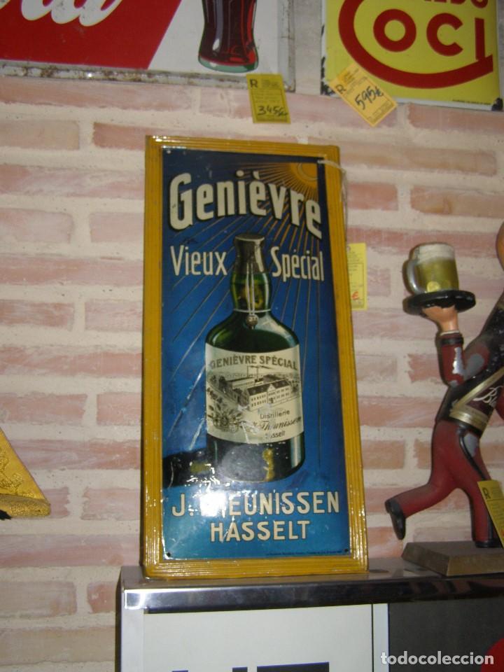 Carteles: Chapa Placa Publicidad Genievre Special. Bélgica. Original. Rara. - Foto 10 - 114050759