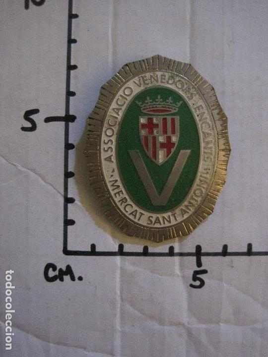 Carteles: CHAPA - ASSOCIACIO VENEDORS ENCANTS - MERCAT SANT ANTONI -BARCELONA -VER FOTOS-(V-14.874) - Foto 8 - 126895079