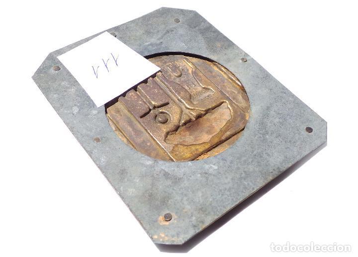 Carteles: CHAPA ESCUDO DE HUELVA 11,5 X 9,5 CM - Foto 2 - 128167267