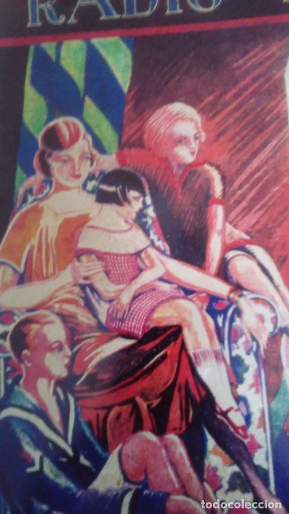 Carteles: Chapa litografiada publicitaria Radio Iris 41 cm x 29 cm - Foto 2 - 128464351