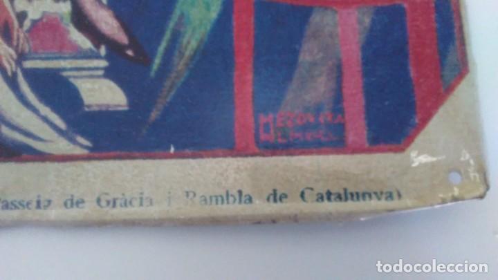 Carteles: Chapa litografiada publicitaria Radio Iris 41 cm x 29 cm - Foto 5 - 128464351