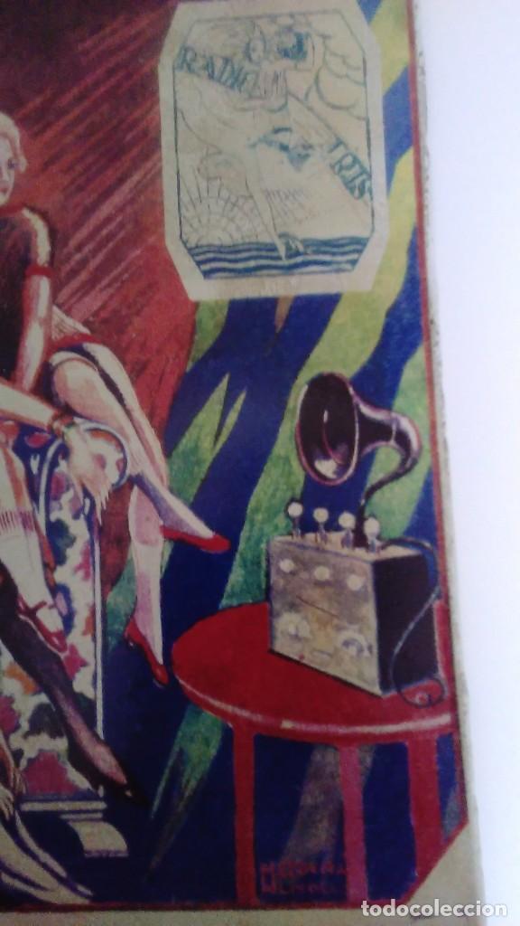 Carteles: Chapa litografiada publicitaria Radio Iris 41 cm x 29 cm - Foto 10 - 128464351