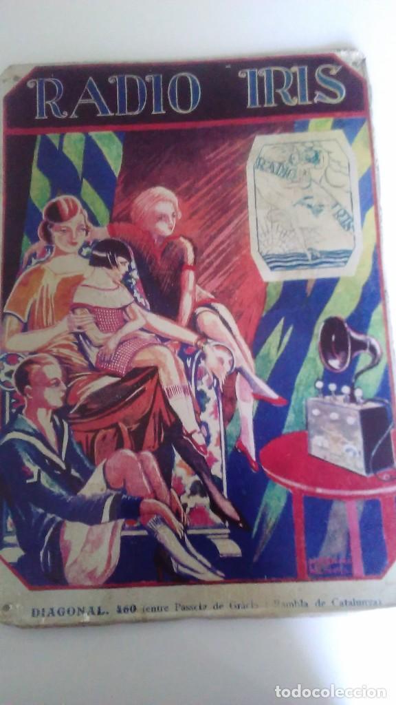 Carteles: Chapa litografiada publicitaria Radio Iris 41 cm x 29 cm - Foto 11 - 128464351