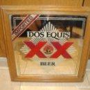 Carteles: ESPEJO BEER DOS EQUIS XX ESPEJO PUBLICITARIO. Lote 128784863